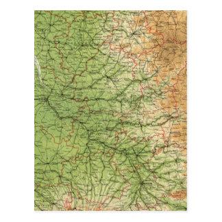 Cartão Postal Bordéus do sudoeste da seção de France