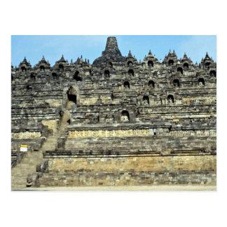 Cartão Postal Borobudur, Java, Indonésia