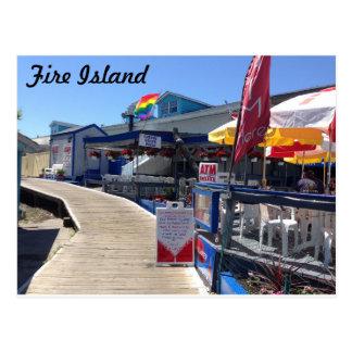 Cartão Postal Bosque da cereja, ilha do fogo