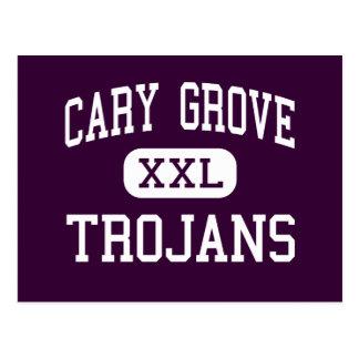 Cartão Postal Bosque de Cary - Trojan - segundo grau - Cary