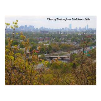 Cartão Postal Boston de Middlesex abate negligencia no primavera