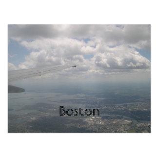 Cartão Postal Boston do ar