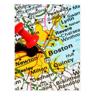 Cartão Postal Boston, Massachusetts