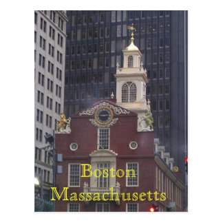 Cartão Postal Boston Massachusetts