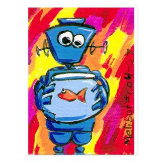 Cartão Postal bot004.07