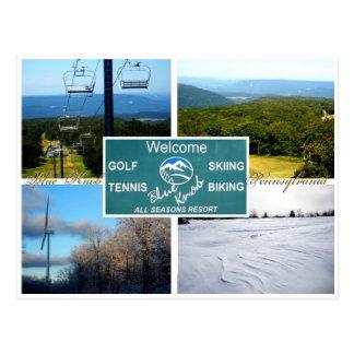 Cartão Postal Botão azul, Pensilvânia