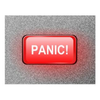 Cartão Postal Botão de pânico