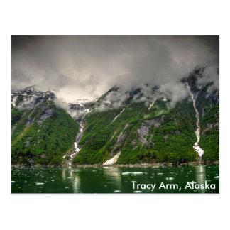 Cartão Postal Braço de Tracy, Alaska