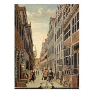 Cartão Postal Brandstweite em Hamburgo, 1775