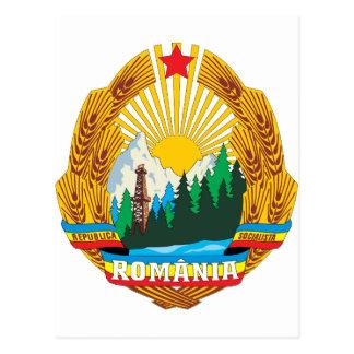 Cartão Postal Brasão 1965 de Romania