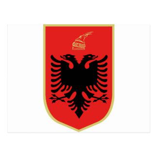 Cartão Postal Brasão de Albânia