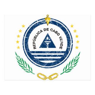 Cartão Postal Brasão de Cabo Verde
