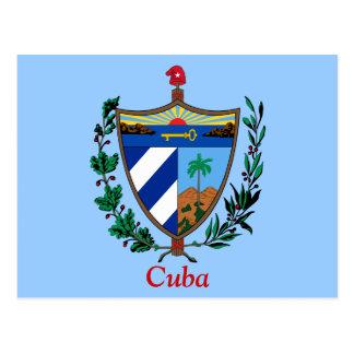 Cartão Postal Brasão de Cuba