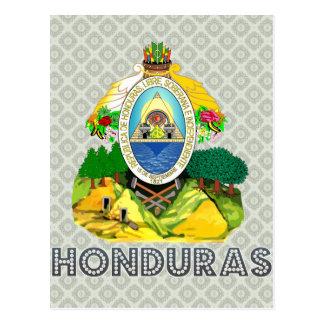 Cartão Postal Brasão de Honduras