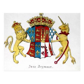 Cartão Postal Brasão de Jane Seymour