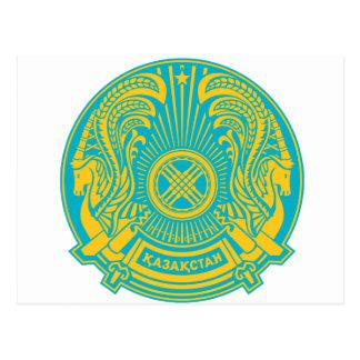 Cartão Postal Brasão de Kazakhstan