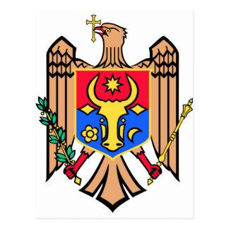 Cartão Postal Brasão de Moldova