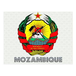Cartão Postal Brasão de Mozambique