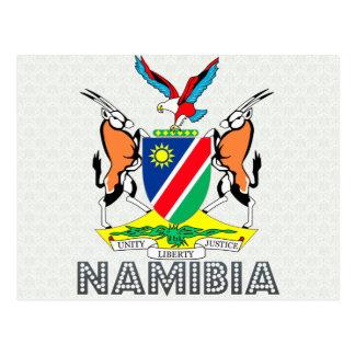 Cartão Postal Brasão de Namíbia