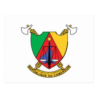 Cartão Postal Brasão de República dos Camarões República dos