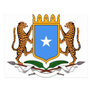 Cartão Postal Brasão de Somália
