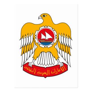Cartão Postal Brasão de United Arab Emirates