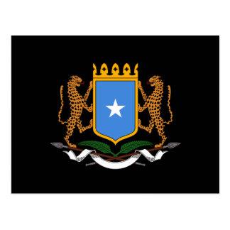 Cartão Postal Brasão somaliana
