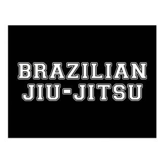Cartão Postal Brasileiro Jiu Jitsu