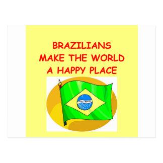 Cartão Postal brasileiros