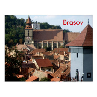 Cartão Postal Brasov do centro