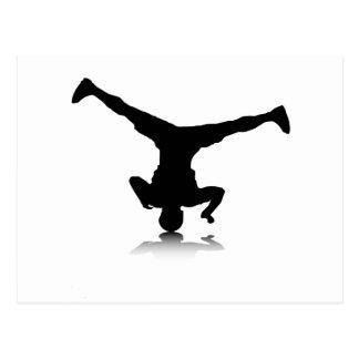 Cartão Postal Breakdancer (rotação)