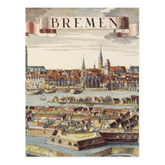 Cartão Postal Brema, Alemanha, 1719