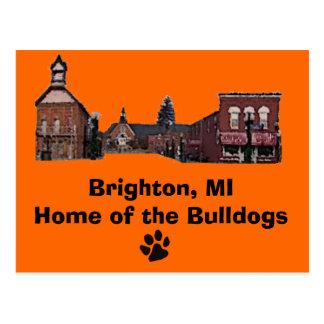 Cartão Postal Brighton#56, pata-impressão, Brigghton, MIHome do…