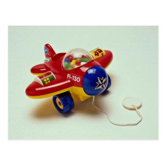 Cartão Postal Brinquedo plano colorido para miúdos