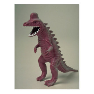 Cartão Postal Brinquedo plástico do dinossauro