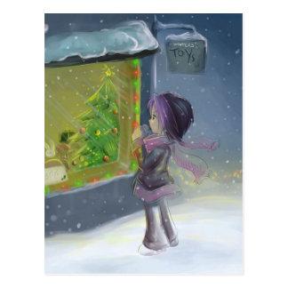 Cartão Postal Brinquedos dos invernos