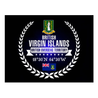 Cartão Postal British Virgin Islands