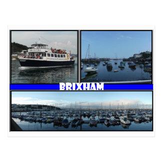 Cartão Postal Brixham Devon
