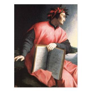 Cartão Postal Bronzino - alegoria de Dante