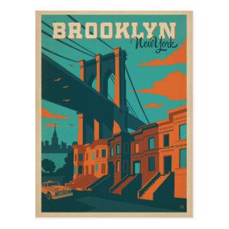 Cartão Postal Brooklyn, NY