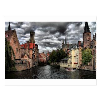 Cartão Postal Bruges, Bélgica