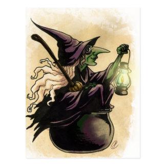 Cartão Postal Bruxa