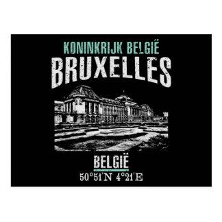 Cartão Postal Bruxelas