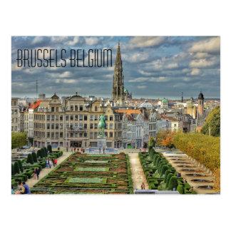 Cartão Postal Bruxelas, Bélgica