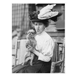 Cartão Postal Bruxelas Griffon, 1900s adiantados