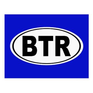 Cartão Postal BTR Baton Rouge Louisiana