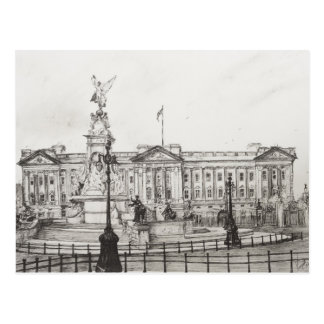 Cartão Postal Buckingham Palace London.2006