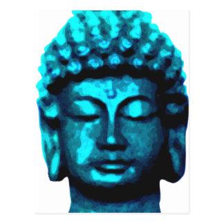 Cartão Postal Buda cabeça