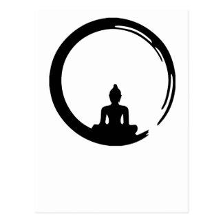 Cartão Postal Buda silent