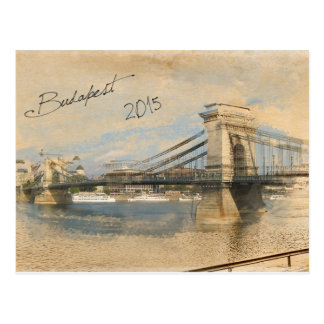 Cartão Postal Budapest